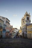 Pelourinho萨尔瓦多巴西的历史的市中心 图库摄影