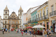 Pelourinho Σαλβαδόρ Bahia στοκ φωτογραφίες με δικαίωμα ελεύθερης χρήσης