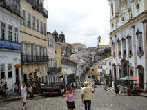 Pelourinho Royalty-vrije Stock Foto