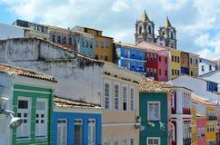 Pelourinho. City view of Pelourinho in Salvador da Bahia/Brazil Stock Photography