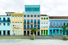 Pelourinho, the famous Historic Centre of Salvador, Bahia in Brazil Stock Images
