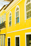 Pelourinho, the famous Historic Centre of Salvador, Bahia in Brazil Stock Photography
