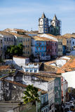 Pelourinho is one of the most famous places of Salvador for tour. Salvador, Brazil - October 26, 2016: Pelourinho is one of the most famous places of Salvador Stock Images