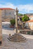 Pelourinho. In medieval village in the castle of Sortelha Stock Images