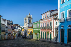 Pelourinho - Salvador, Bahia, Brasilien Arkivbild