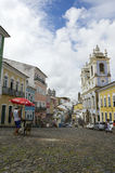 Pelourinho Salvador Bahia Brazil Daytime Scene Royalty Free Stock Photo