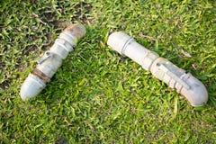 Pelouses de l'eau de contrôle de valves en parc Image stock