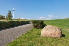 Free Pelplin, Pomeranian / Poland - September, 26, 2019: Mount John Paul II Near Pelplin. A Place Commemorating The Visit Of John Paul Royalty Free Stock Images - 159556649