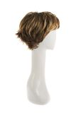 Peluca del pelo sobre la cabeza del maniquí Foto de archivo