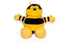 peluche d'abeille Photographie stock libre de droits