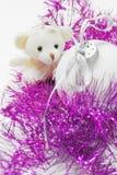 Peluche de la Navidad Fotografía de archivo libre de regalías