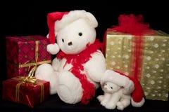 Peluche de Santa imágenes de archivo libres de regalías