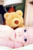 Peluche del bebé Fotos de archivo libres de regalías