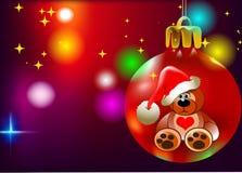Peluche do Natal Imagem de Stock Royalty Free