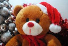 Peluche do Natal Fotografia de Stock Royalty Free