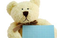 Peluche el oso Fotos de archivo