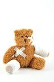 Peluche enfermo Imagen de archivo libre de regalías