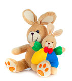 Peluche rabbit Stock Photos