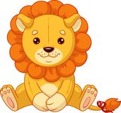 Peluche Toy Lion images stock