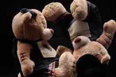 Peluche-ursos Fotografia de Stock
