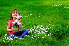 Peluches e Daisys da criança Imagens de Stock Royalty Free