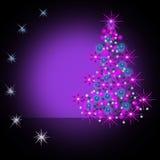 Pelzbaum des neuen Jahres Vektor Abbildung