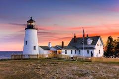 Pemaquid Light House Stock Photography