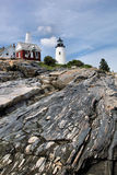 Pemaquid Lighthouse Royalty Free Stock Images