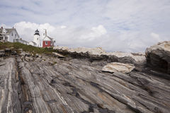 Pemaquid Lighthouse in Bristol Maine Royalty Free Stock Image