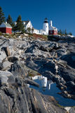 Pemaquid Lighthouse, Maine Royalty Free Stock Photography