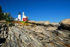 Pemaquid Lighthouse, Maine Royalty Free Stock Images