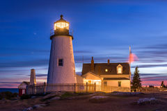 Pemaquid Lighthouse Royalty Free Stock Photography