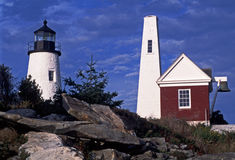 Pemaquid Point Light Station, Bristol, ME Royalty Free Stock Photos