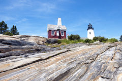 Pemaquid Point Lighthouse stock photos