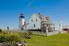 Pemaquid Point Lighthouse Royalty Free Stock Photos