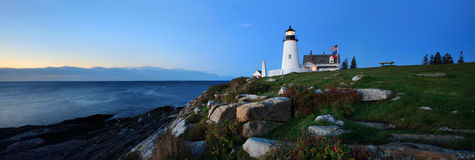 Pemaquid Point Lighthouse Royalty Free Stock Images