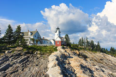 Pemaquid Point Lighthouse, Maine Royalty Free Stock Photography
