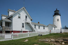 Pemaquid Point Lighthouse Maine, USA royalty free stock photography