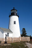Pemaquid Point Lighthouse Tower Royalty Free Stock Images