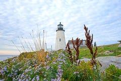 Pemaquid Point Maine lighthouse Stock Photos