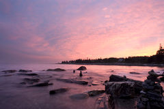 Pemaquid Point Sunset Royalty Free Stock Images