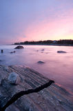 Pemaquid Point Sunset Stock Image