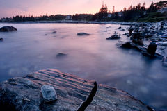 Pemaquid Point Sunset Stock Photography