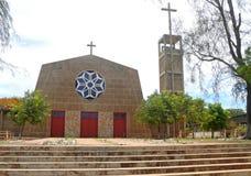 Pemba. Le bâtiment religieux du temple. L'Afrique, Mozambique photos libres de droits