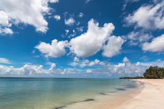 Pemba paradise beach, north Mozambique. Pemba beach is situated on the Indian Ocean in the north of Mozambique, a tourist destination in East Africa Stock Image