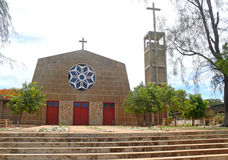 Pemba. The religious building of the temple. Africa, Mozambique Royalty Free Stock Photos