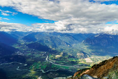 Pemberton Valley Royalty Free Stock Photo