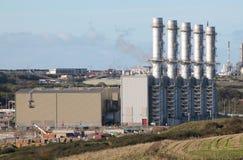 Pembroke发电站 免版税图库摄影