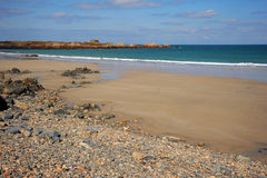 Pembroke Bay. Guernsey Royalty Free Stock Photos