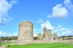 Pembroke Castle. In Pembrokeshire South Wales Royalty Free Stock Photography